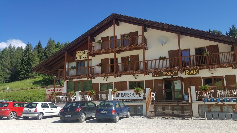 Hotel Grizzly estate in Folgaria